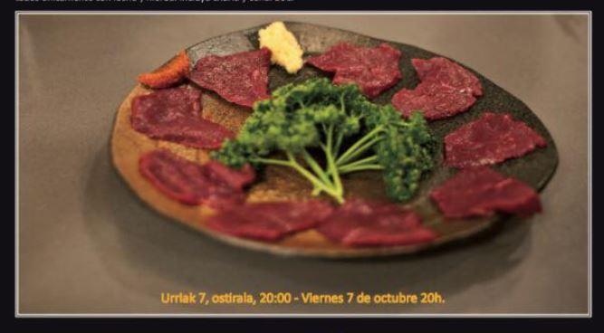 Degustación de carne de Potro